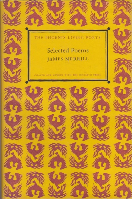 Selected Poems. James Merrill.