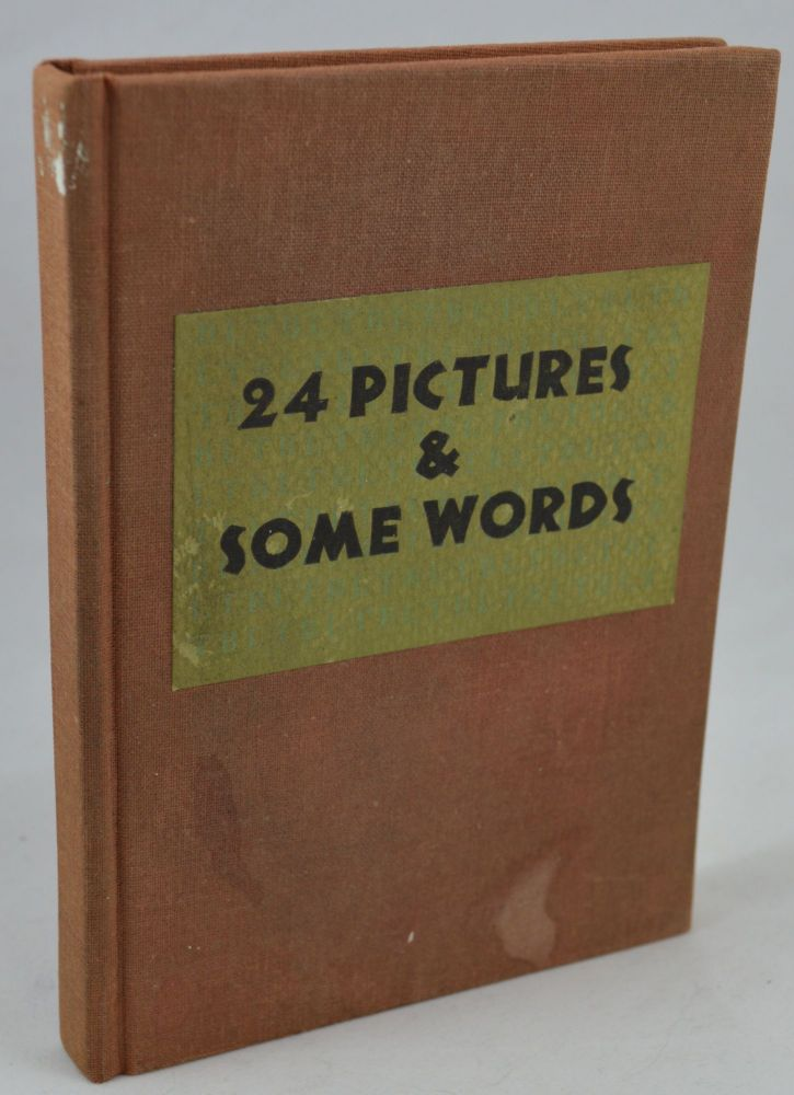 24 Pictures and Some Words. Joe Brainard.