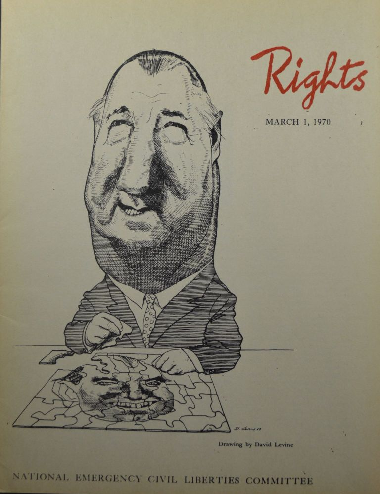 Rights (March 1, 1970, Vol. XVII, No. 1). James Aronson.