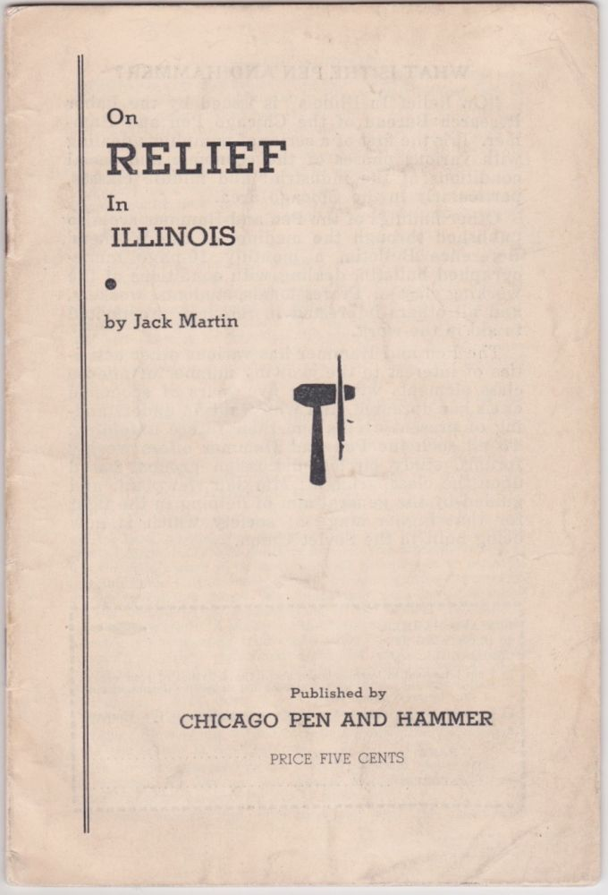 On Relief in Illinois. Jack Martin.