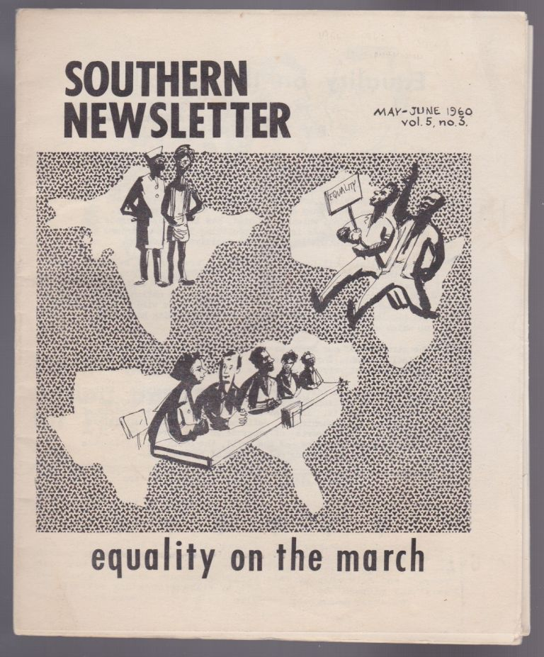 Southern Newsletter: Equality on the March (May-June 1960, Vol. 5, No. 3). Eugene Feldman.