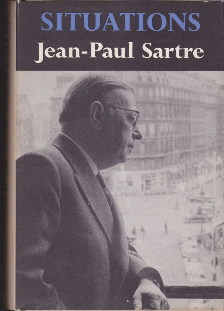 Situations. Jean-Paul Sartre.