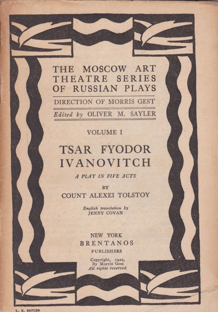 Tsar Fyodor Ivanovitch: A Play in Five Acts. Count Alexei Tolstoy.