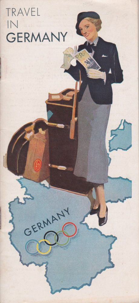 Germany, the Beautiful Travel Country [Cover title: Travel in Germany]. Nazi German Railways.