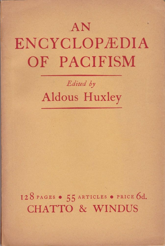 An Encyclopædia of Pacifism