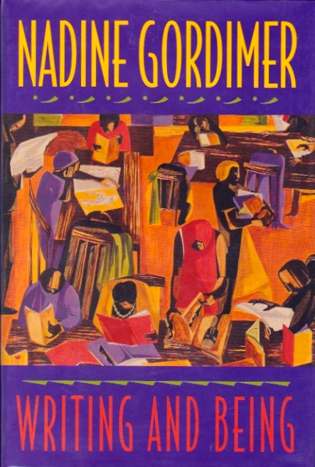 Writing and Being. Nadine Gordimer.