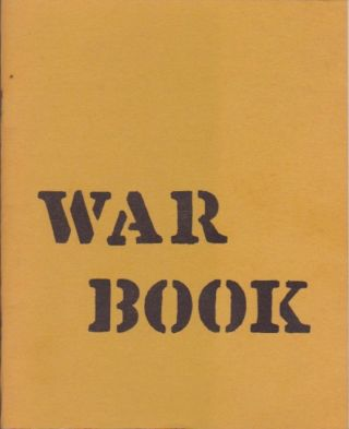 War Book. Robert R. Allen