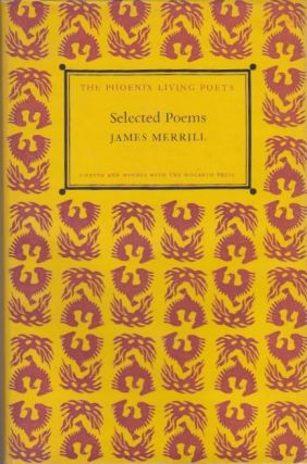 Selected Poems. James Merrill