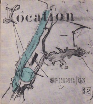 Location [Vol. 1 No. 1]. Larry Rivers, Thomas B. Hess, Harold Rosenberg