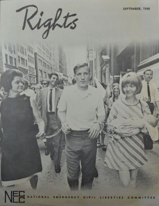 Rights Vol. XV, No. 2 (September 1968). National Emergency Civil Liberties Committee