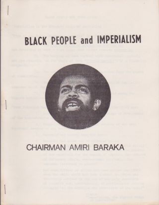 Black People and Imperialism. Amiri Baraka.