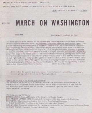Join the March on Washington