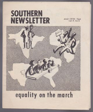 Southern Newsletter: Equality on the March (May-June 1960, Vol. 5, No. 3). Eugene Feldman