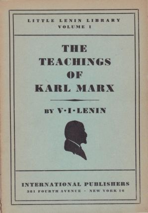 The Teachings of Karl Marx. V. I. Lenin
