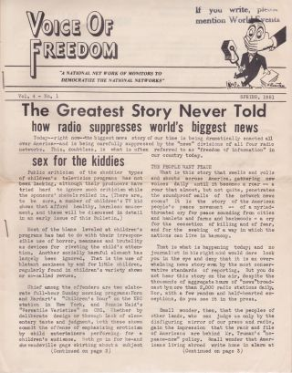 Voice of Freedom: The Greatest Story Never Told: How Radio Suppresses World's Biggest News....