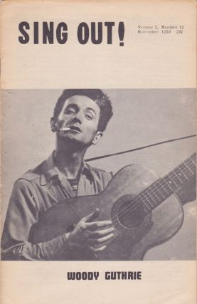 Sing Out [Vol. 3, No. 12]. Woody Guthrie, Irwin Silber