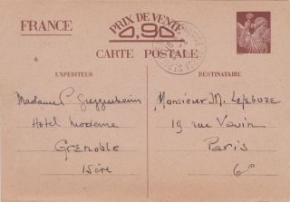 Rare postcard with a possible coded message