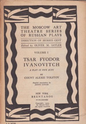 Tsar Fyodor Ivanovitch: A Play in Five Acts. Count Alexei Tolstoy