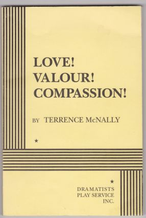 Love! Valour! Compassion! Terrence McNally