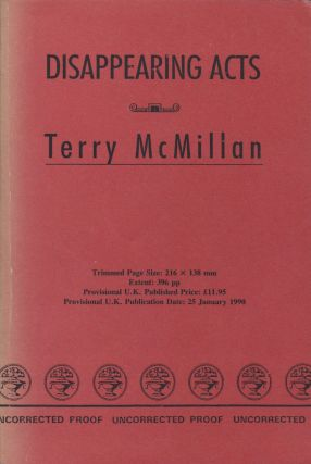 Disappearing Acts. Terry McMillan