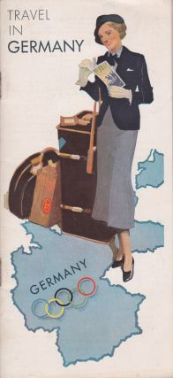 Germany, the Beautiful Travel Country [Cover title: Travel in Germany]. Nazi German Railways