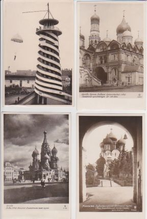 Moscow Postcards of the 1930s