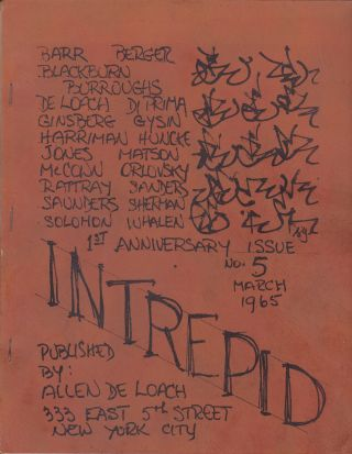 Intrepid No. 5 [March 1965, 1st Anniversary Issue