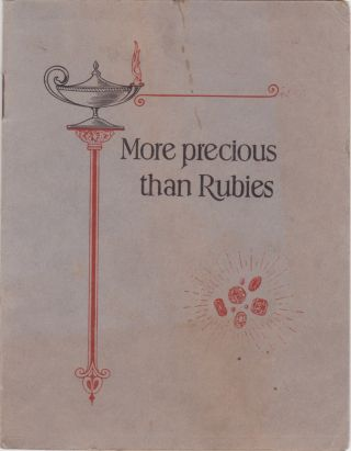 More precious than Rubies [Cover title]. Anonymous, Medicine, Quackery