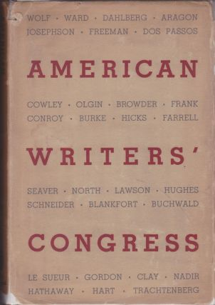American Writers' Congress. Henry Hart