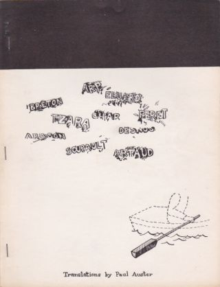 A Little Anthology of Surrealist Poems. Paul. Schneeman Auster, George.