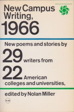 New Campus Writing, 1966. Nolan Miller