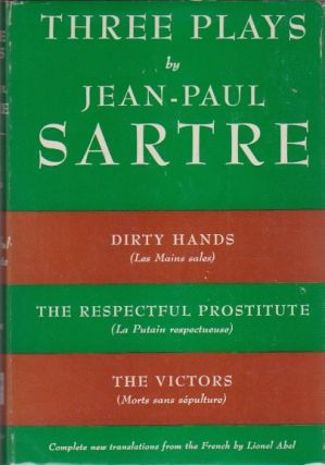 Three Plays. Jean-Paul Sartre.
