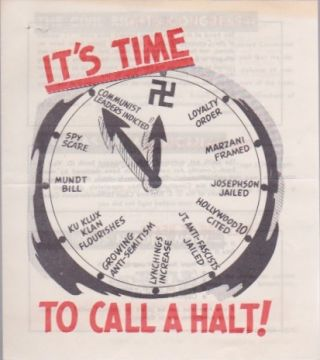 It's Time to Call a Halt! Civil Rights Congress