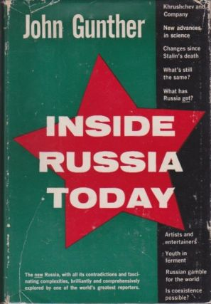 Inside Russia Today. John Gunther